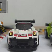 乐高手记 篇十七:生活过得去,车上带点绿——LEGO 乐高 超级赛车系列 75888 保时捷911对决