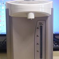 开箱晒物 篇三:美的 Midea不锈钢 5L容量 多段温控电热水壶PF701-50T - 测评