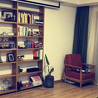 我的理想家—篇一:我有一个大书架