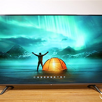 视觉无边框,55英寸小米全面屏电视开箱