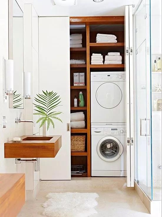 洗衣机&烘干机,怎么布局才算合理?