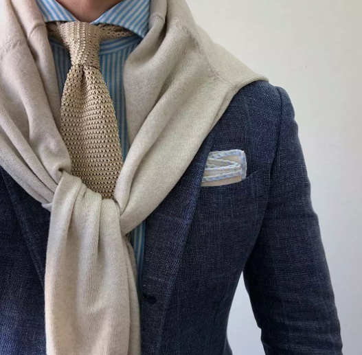 领带的深度解析 | 西装客杂谈