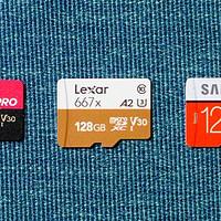 3款128GB TF卡的理论性能测试