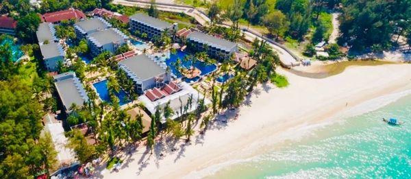 普吉岛邦涛海滩太阳之翼酒店 4晚连住+2大2小早餐+晚餐+芭东海滩接驳