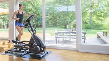 家用健身器材之椭圆机 篇二:颜值在线,性能耐打——诺德士E626椭圆机使用测评
