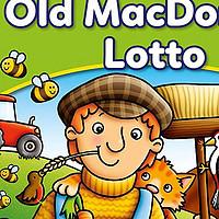萌萌的2-6岁农场卡牌游戏  Orchard Toys桌游  老麦克唐纳德乐透