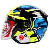 我在南京骑摩托:夏日通勤新选择—KYT 3/4头盔