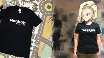 服饰快消品 篇一百一十六:经典logo款Reebok女子短袖T恤