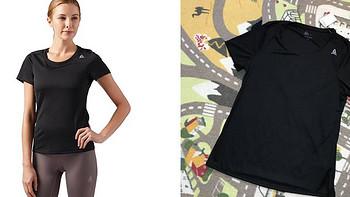 减肥加速中 篇二十七:夏日运动实惠之选!Reebok女子跑步速干T恤