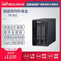 简单操作实现大容量数据存储,QNAP TR-002外接存储盒评测