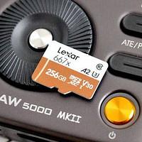 媲美固态的TF卡,实测速度读98写92,雷克沙667X 256G内存卡真稳