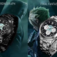 重返游戏:SE×精工推出两款《最终幻想7》主题手表!