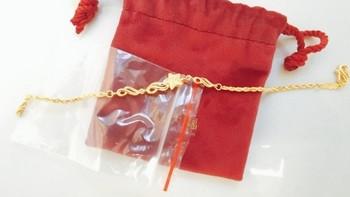 618成绩单:入手周大福非常漂亮的手链