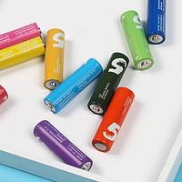 看中颜值的彩虹电池:小米 5号碱性电池 晒单