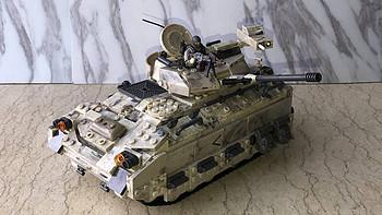 我的COD情结 篇七:美高 使命召唤系列 布拉德利M2装甲车 拼装玩具