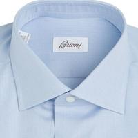 衬衫的Bespoke(一):Brioni Blue Ventiquattro 下