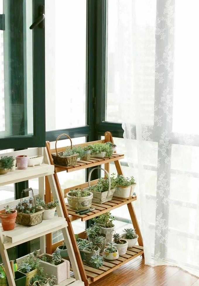 别人的阳台这么美,你却只用来晒衣服?