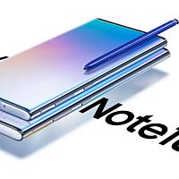 """安卓机皇降临:三星Note10/Note10+手机正式发布 ,""""干掉""""边框,标配5G,先行者售价6999元起"""