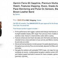 小道消息   Garmin fenix 6 售价及发售日期泄露