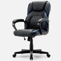 博泰(BJTJ)电脑椅办公电竞椅皮椅家用椅子黑色转椅BT-20303