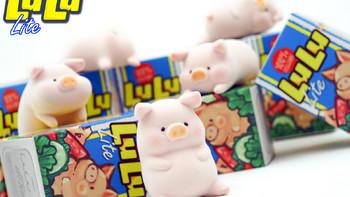 """养猪啦!52toys独家代理""""罐头猪LULU""""""""盲盒上线!"""