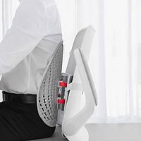 久坐不累、缓解脊椎压力,乐班人机工学靠垫让你告别颈椎疾病
