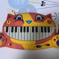 欢迎比乐B.Toys大嘴猫电子琴加入十六六家族