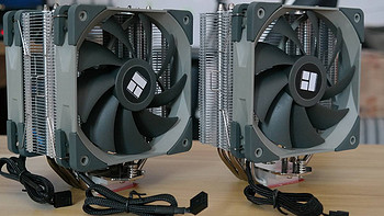 性能一点不输高端风冷!利民TL-AS120刺灵CPU散热器评测
