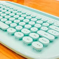 好卡哇伊呀,不,我还很酷的复古蓝牙键盘福德K510d