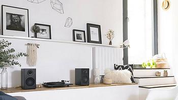 品位黑胶慢生活 | 法国Triangle黑胶唱机 + LN01A有源音箱组合套装