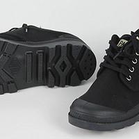 特定場合適用,穿著舒服,丑我也認了——palladium 帕拉丁 75331低幫帆布鞋詳曬