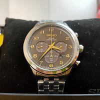 表哥晒表 篇十:我的日常通勤腕表,SEIKO精工太阳能计时腕表SSC563