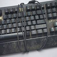 达尔优 CK550 BOX白轴 热插拔机械键盘 修复