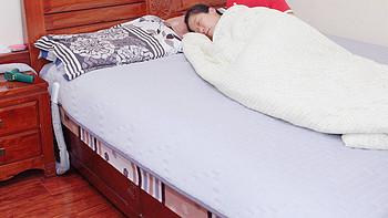 米家智能水暖床垫测评:智能恒温加热99%除螨,每晚仅需2毛钱