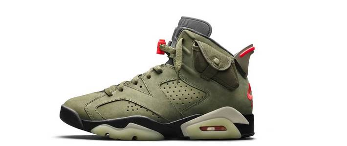 又双叒叕买鞋了 篇三十四:狠货来了,SNKRS上面买到的 Travis Scott x Air Jordan 6