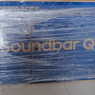 全网首发三星Q80R全景声回音壁和swa9000s后环绕开箱