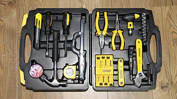 爱家的男人都该有一套:史丹利45件套工具箱开箱