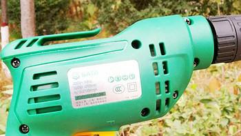 产品评测 篇三十二:只听声音就会爱上它,男人必备家用电器之世达320W手电钻评测