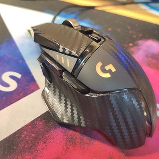 数码产品 篇三:罗技G502独家订制贴膜体验与分享