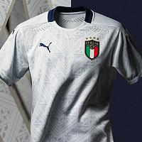 双11发布,依然高颜值:PUMA 彪马 发布 意大利国家队2020年客场球衣