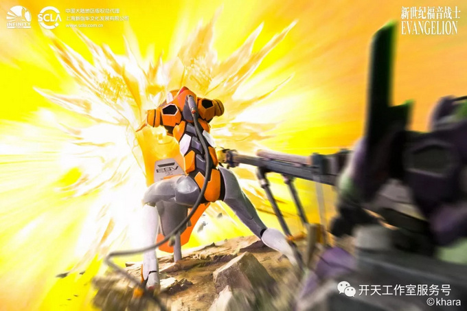 玩模总动员:EVA屋岛作战零号机雕像开订!