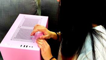 双十一后的电脑首晒——帮妹子装了一台粉色系主机