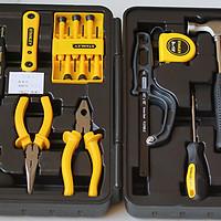 道哥的家居干货分享 篇二:家庭必备工具,史丹利Stanley45件套家装工具箱套装开箱