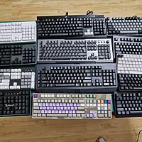 叫我键盘侠 篇一:机械键盘哪个好?我先买它十把回来自己试试(品牌篇)