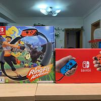 switch+健身环大冒险,全家人的运动玩具