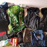 探路者60L登山包能装什么?从20度到-30度出差2月的程序猿经验~