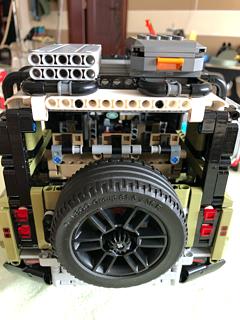 乐高(LEGO)机械组Technic路虎
