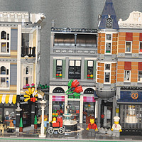 单反毁一生,LEGO穷三代 篇一百三十五:LEGO 乐高 街景 10255 10周年集会广场