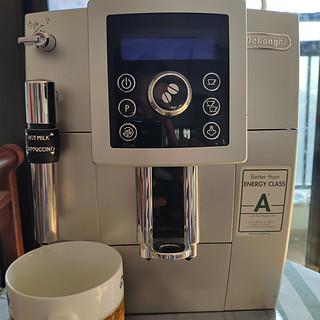 德龙咖啡机除垢进行中