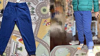 我买的童装 篇六十九:优衣库儿童运动裤 421846
